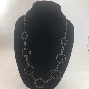 Express Circle and Links Necklace